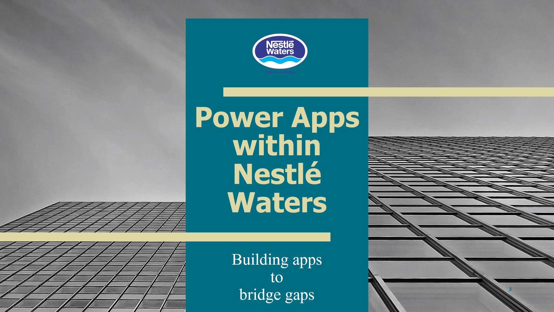 Nestlé Waters uses Power Apps to digitize operations at their manufacturing facility